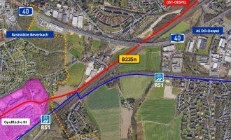Neue Variante Ost-Oespel statt Vorfestlegung auf die Nord-Trasse wird geprüft