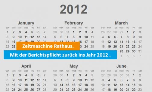 Bochum schlampt seit Jahren bei gesetzlicher Pflichtaufgabe!