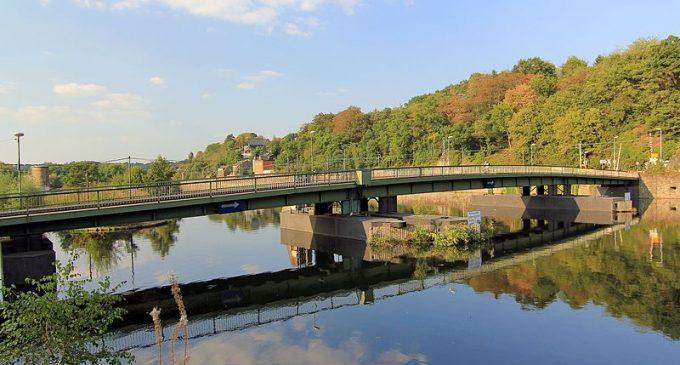 Pontonbrücke in Bochum-Dahlhausen verschieben – Neubau an gleicher Stelle.