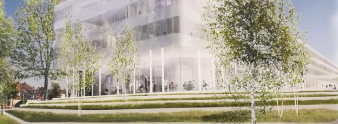 Gegenvorschlag für den Neubau des Schulzentrums Bochum-Gerthe.