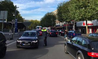 Sperrung der Hans-Böckler-Straße in nur eine Fahrtrichtung führt zu Chaos.