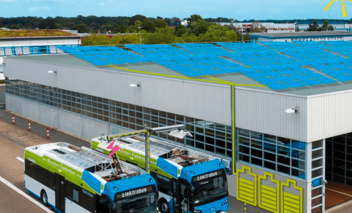 Sonnenenergie für Bochums E-Busse nutzen
