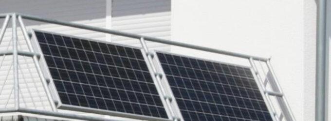 Bochumer Grüne lehnen Förderung von Balkonsolaranlagen ab.