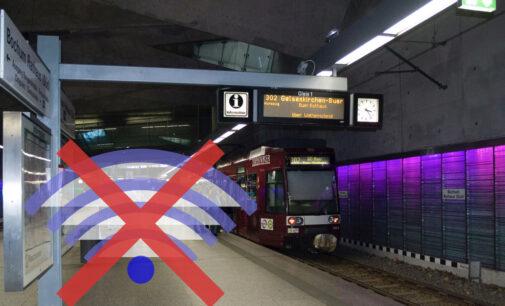 Mobiler Internetempfang an Tiefbahnhöfen in Bochum verbessert sich nach STADTGESTALTER-Anfrage.
